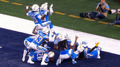 Must See: Chargers' defensive celebration after pick