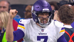Keenum hits Rudolph for second TD