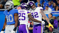 NFL: Vikings 30, Lions 23