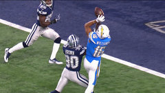 Williams extends Chargers lead in Dallas