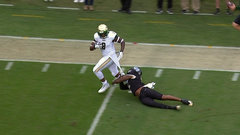 Must See: McCants drags UCF defender 10-yards for score