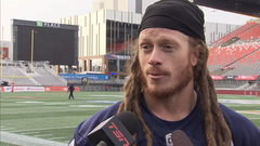 Argos' D ready to get after Mitchell