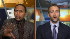 Stephen A. and Max disagree on Morgan's stance on steroids