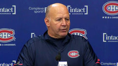 Julien happy to have good news to share