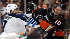 Will Chiarot be suspended for hitting Perry in the face with his stick?