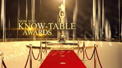 Now You Know-table Awards