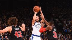 NBA: Bulls 94, Warriors 143
