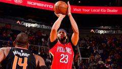 NBA: Pelicans 115, Suns 91