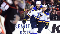 NHL: Blues 2, Ducks 1 (OT)