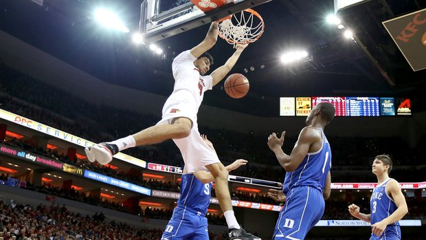 Must See: High flying, power dunks from Saturday's college basketball