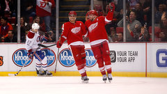 NHL: Canadiens 0, Red Wings 1