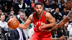 Raptors complete franchise-record first half