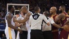 Bad blood stirring between Warriors, Cavaliers