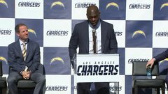 Must See: New L.A. Chargers coach momentarily forgets team moved