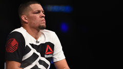 What is the motive behind Nate Diaz applying for a boxing license?