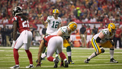 Can the Packers outscore the Falcons' No. 1 offence?