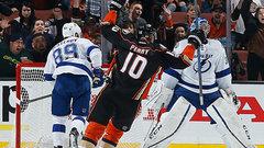 NHL: Lightning 1, Ducks 2 (OT)