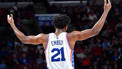 Embiid a beast in 76ers' win over Raps