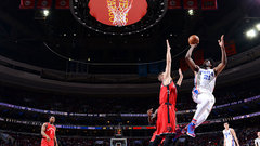Embiid helps 76ers end 14-game losing streak to Raptors