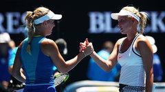 Wozniacki, Cibulkova advance to third round