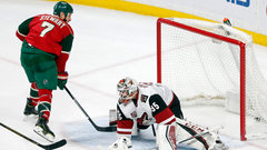 NHL: Coyotes 3, Wild 4