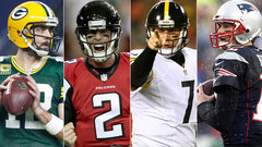Ranking the four quarterbacks left in the playoffs