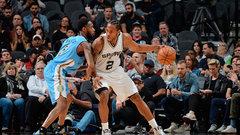 NBA: Nuggets 104, Spurs 118