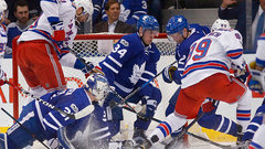 Leafs' compete level wasn't there against Rangers