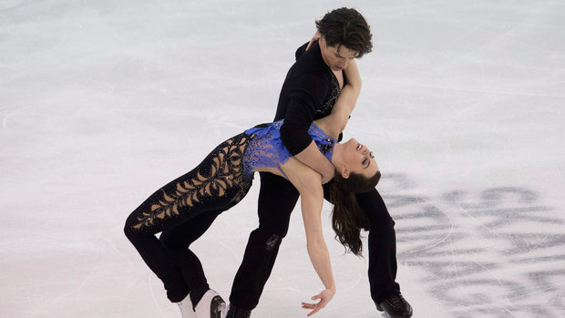 Osmond, Virtue-Moir shine in their short programs