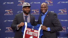 Alouettes introduce Durant; Dickenson inks three-year extension