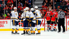 NHL: Predators 4, Flames 3