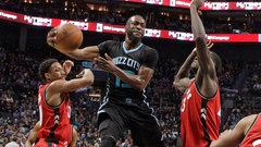 NBA: Raptors 78, Hornets 113