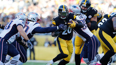 How do the Patriots slow down Le'Veon Bell?