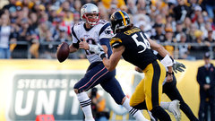 Patriots should get a stiff test from Steelers