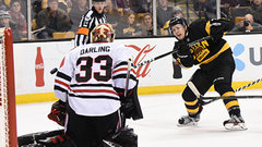 NHL: Blackhawks 1, Bruins 0