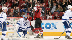 NHL: Lightning 3, Coyotes 5