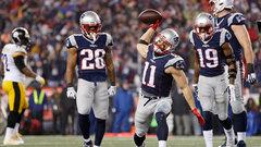 Patriots' road to the Super Bowl
