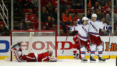 NHL: Rangers 1, Red Wings 0 (OT)