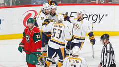 NHL: Predators 4, Wild 2