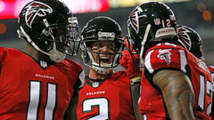 Falcons' road to the Super Bowl