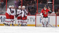 NHL: Blue Jackets 7, Senators 6 (OT)