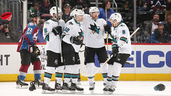 NHL: Sharks 5, Avalanche 2