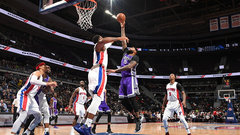 NBA: Kings 109, Pistons 104