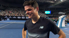Raonic says he's fortunate to get past Bautista Agut