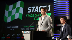 NASCAR implements stage-based race format, playoff-point incentives