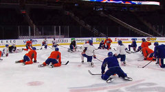 Talbot apologizes to Oilers after missing practice