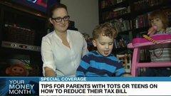 Tots or tweens: Tax saving tips for parents