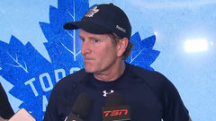 Babcock on Marner injury: It's a wait and see