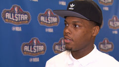 Lowry on third All-Star Game, preparing for three-point contest