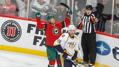 NHL: Predators 2, Wild 5